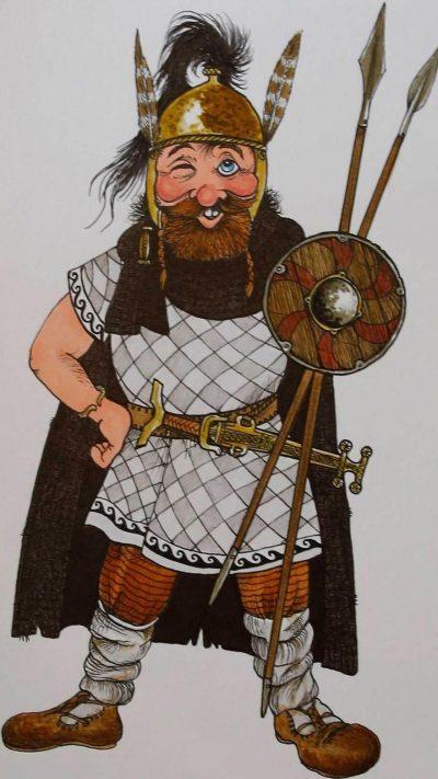 Larus, personaje guía